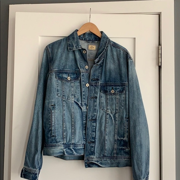 J. Crew Other - Medium Wash Denim Jacket